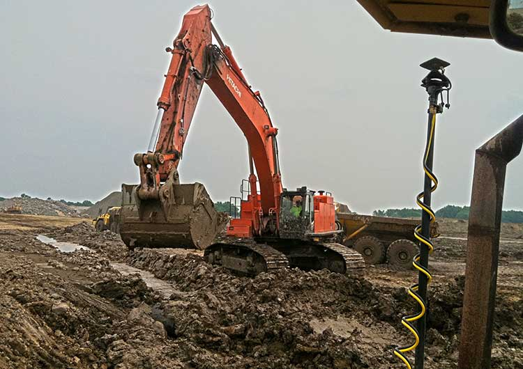 commercial site excavating equipment